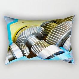 Gear speed reducer Rectangular Pillow