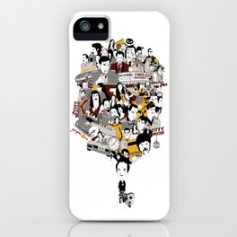 Quentin´s World iPhone Case