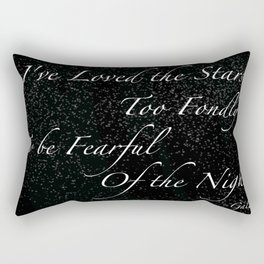 Stars Quote Rectangular Pillow
