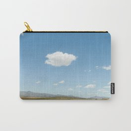 White clouds in the mountains Carry-All Pouch