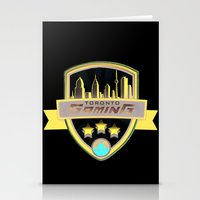 gaming Stationery Cards featuring Toronto Gaming by rramrattan