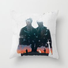 True Detective - The Long Bright Dark Throw Pillow