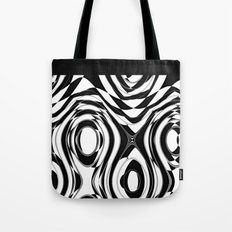 Black and White holes Tote Bag