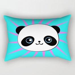 Wild Rockstar Panda Rectangular Pillow