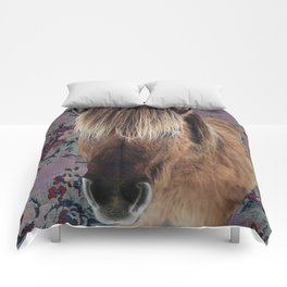 floral Icelandic pony Comforters