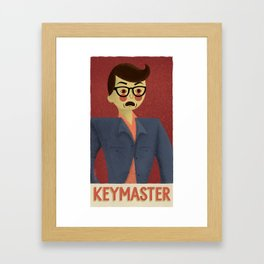 Keymaster Framed Art Print