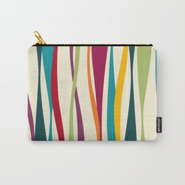 Colorful Bohemian Waves Light Carry-All Pouch