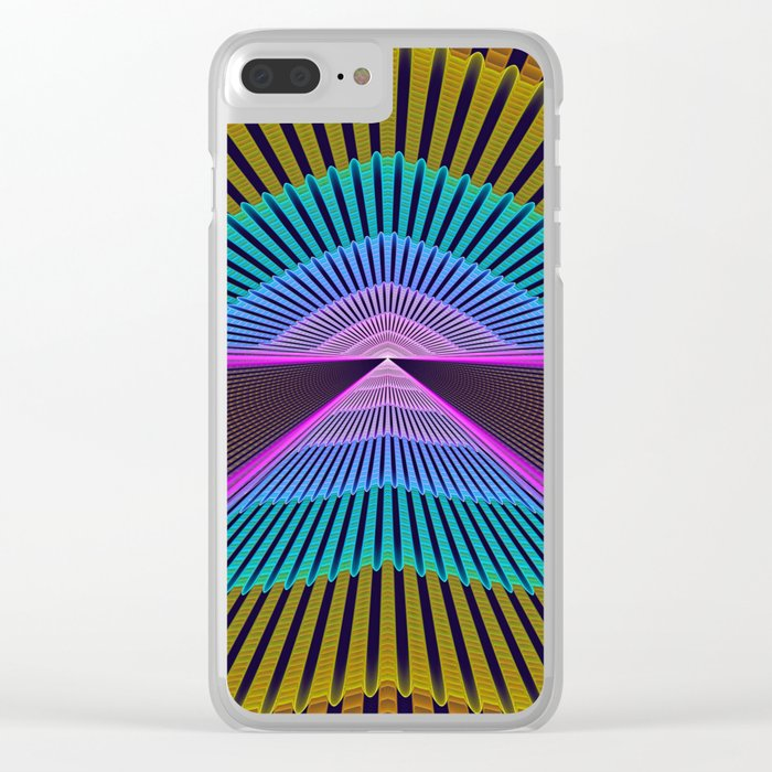 The feel of speed Clear iPhone Case