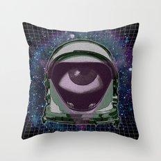 Space Eye Throw Pillow