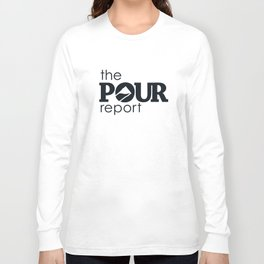 The Pour Report (Black) Long Sleeve T-shirt
