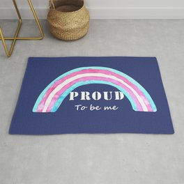 Proud to be me trans Rug