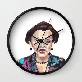 Women of the 113th - Rep. Nydia Velazquez Wall Clock