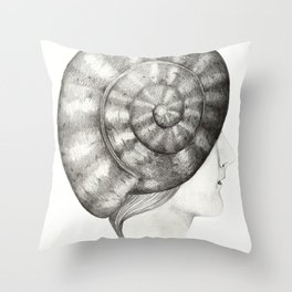 Caracola Throw Pillow