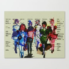 'Fashion is a form of ugliness...' Canvas Print