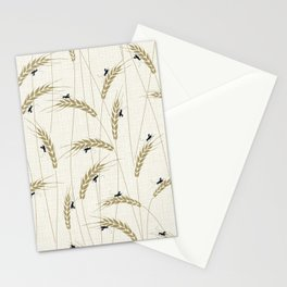 Crickets in a field Stationery Cards