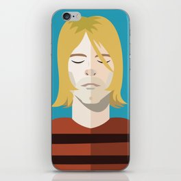 Dead Celebs Volume 1: Kurt iPhone Skin