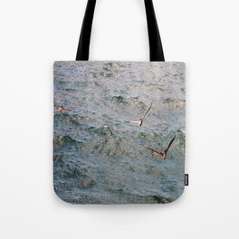 Lunch time in the Gulf Tote Bag