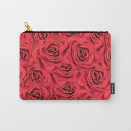 Radical Red Roses Carry-All Pouch