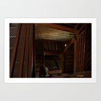 Case of Stairs Art Print