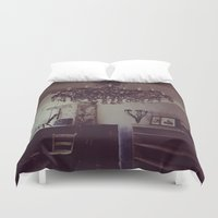 antique Duvet Covers featuring Antique by Jane Lacey Smith