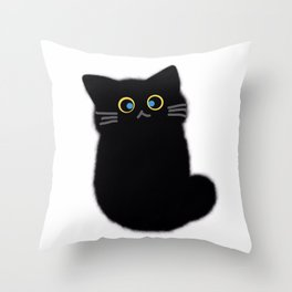 cat 598 Throw Pillow