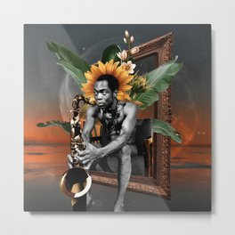 Black History Month - Fela Kuti Metal Print