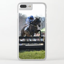 3 wide Clear iPhone Case