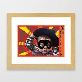 Yo no soy un Delincuente Framed Art Print