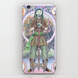 The Green Knight iPhone Skin