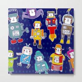 Mr Robot Metal Print