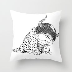 Avatar / Appa by Luna Portnoi Throw Pillow