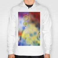 bubbles Hoodies featuring Bubbles by Brian Raggatt