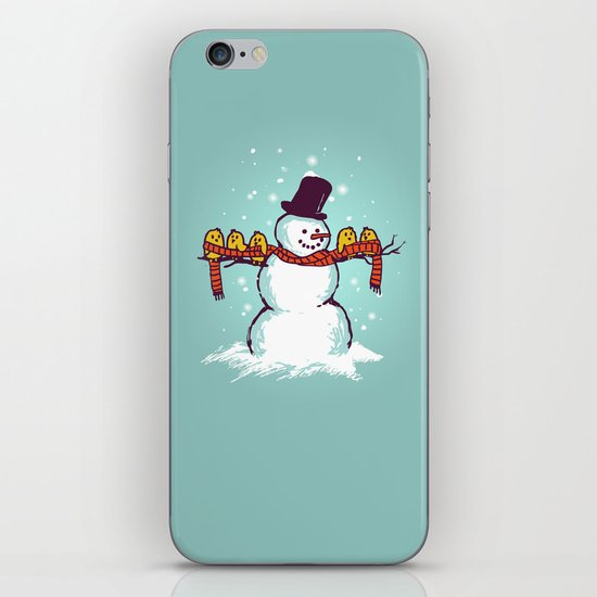 Sharing is caring (Winter edition) iPhone & iPod Skin