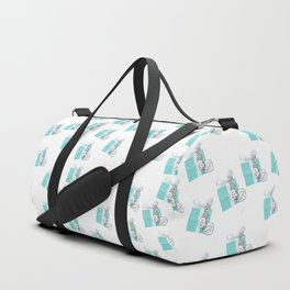 Blue Jewelry Box Duffle Bag