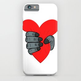 A Monkey Crushes A Heart Heartbreaker Lovesickness iPhone Case