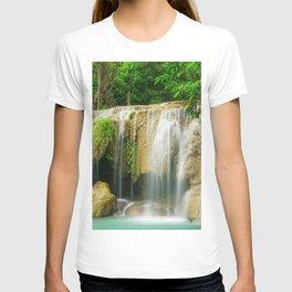 Erawan Falls Erawan National Park Kanchanaburi Thailand Ultra HD T-shirt