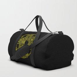 Yellow Pickleball Ball Duffle Bag