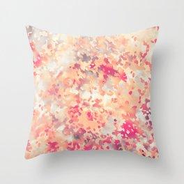Acid Camouflage Throw Pillow