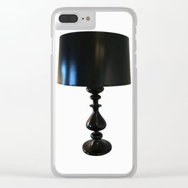 chic lamp b&w collection Clear iPhone Case