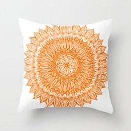 Sinful-Orange Throw Pillow