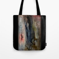imagerybydianna Tote Bags featuring corona de cenizas by Imagery by dianna
