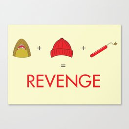 An Exercise in Revenge Canvas Print
