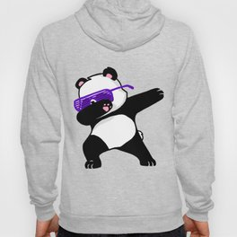Dabbing Panda Cute Funny kids adults Dabing dane Hoody