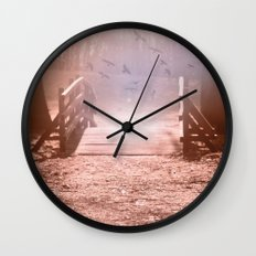 fantasy garden °3 Wall Clock