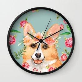 Vintage Corgi Wall Clock