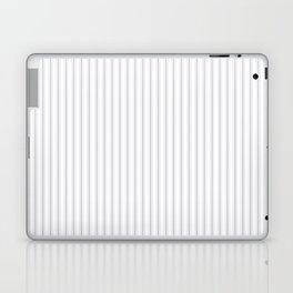 Grey Harbour Mist Mattress Ticking 2018 London Fashion Color Laptop & iPad Skin
