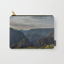 Black Canyon of the Gunnison National Park at Sunrise Carry-All Pouch
