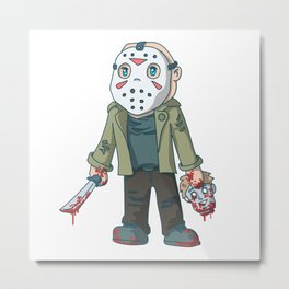 K-Jason Metal Print