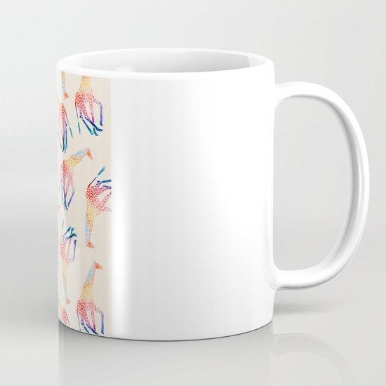 Watercolor Giraffe Pattern (Ivory) Mug