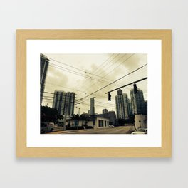 Low Wire Framed Art Print